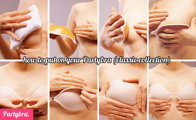 how to wear adhesive bra australia